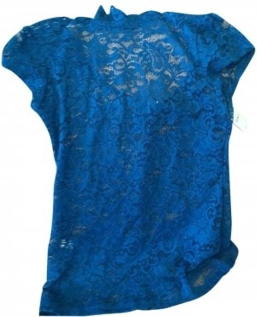 Preload https://item4.tradesy.com/images/express-teal-lace-peek-a-boo-blouse-size-4-s-9408-0-0.jpg?width=400&height=650