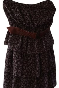 Rue 21 short dress Brown on Tradesy