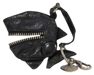 Chlo Adorable See by Chloe Shark Key Chain. Zipper Mouth for Coins.