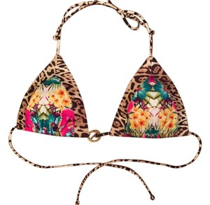 Victoria's Secret Tropical Mixed Print Halter