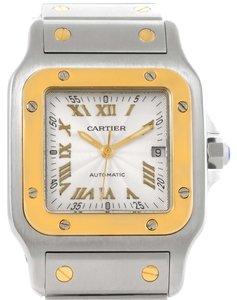 Cartier Cartier Santos Galbee Large Steel 18K Yellow Gold Watch W20058C4