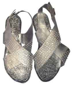 Other Embellished Clear Sandals