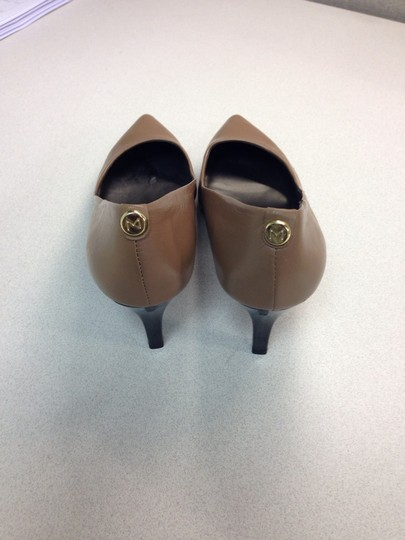 MONET Flesh Tone Brown Nude Pumps