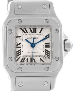 Cartier Cartier Santos Galbee Ladies Stainless Steel Automatic Watch W20054D6