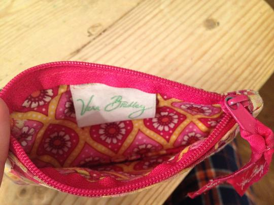 Vera Bradley Wristlet in pink, yellow, floral
