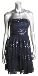 JS Boutique Strapless Sequin Semi-formal Padded Bra Dress