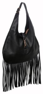 Gucci Popular Fringe Leather Hobo Bag