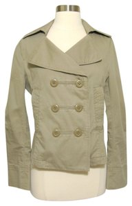 Victoria's Secret Lightweight 100% Cotton Military Trench Double Breasted Military Jacket