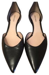 Giorgio Armani Pointed Toe black Flats