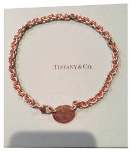 Tiffany & Co. Oval Necklace