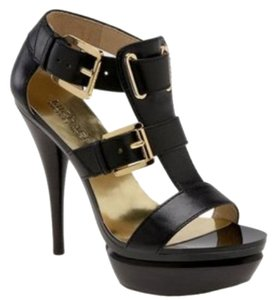 Michael by Michael Kors Black Sandals