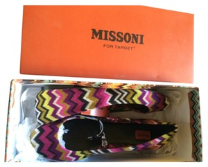 Missoni for Target Pink, black, green, off-white Flats