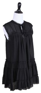 L'AGENCE Made In Us Polyester Sleeveless Top black