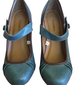 Xhilaration Muted teal blue Pumps