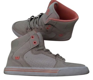 Supra Suede Dunks High Top Tan Athletic