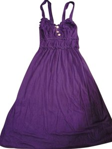 Lucy Love short dress Purple on Tradesy