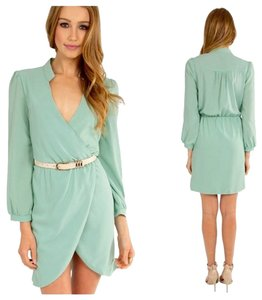 Tobi short dress Mint Tulips on Tradesy