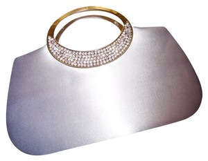 Dyeables Silver Clutch