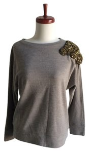 ADAM Sweatshirt Sequin Beaded Embellished Sweater