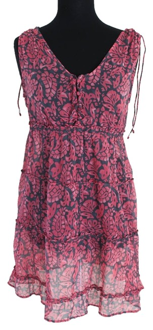 Preload https://item1.tradesy.com/images/american-eagle-outfitters-pink-and-blue-sheer-cotton-above-knee-short-casual-dress-size-6-s-941345-0-0.jpg?width=400&height=650