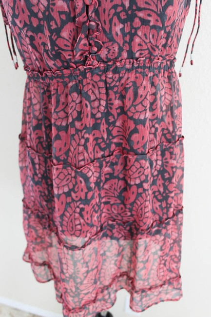 American Eagle Outfitters short dress Pink & Blue Sheer Cotton on Tradesy