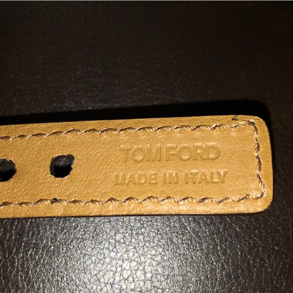 black reversible for chocolate belt t lyst leather men tom buckle accessories in ford