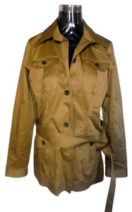 Eddie Bauer Classic Trench Lined Trench Coat