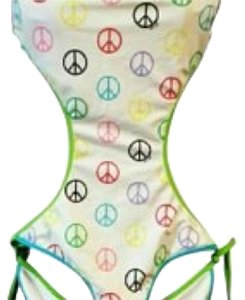 Victoria's Secret Victoria's Secret PINK Peace Sign Monokini