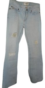Abercrombie & Fitch Boot Cut Jeans-Light Wash