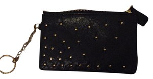 Remi and Reid Wristlet in black and gold