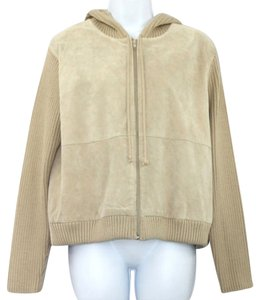 Other Knit Suede Jacket
