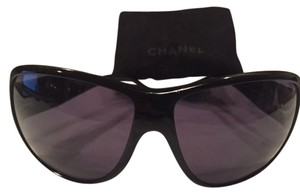 Chanel Chanel Black 6025 Unisex Designer Sunglasses