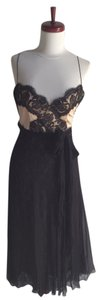 Elie Tahari Lace Silk Lbd Dress