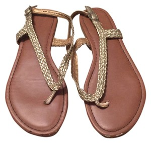 Madden Girl Gold Sandals
