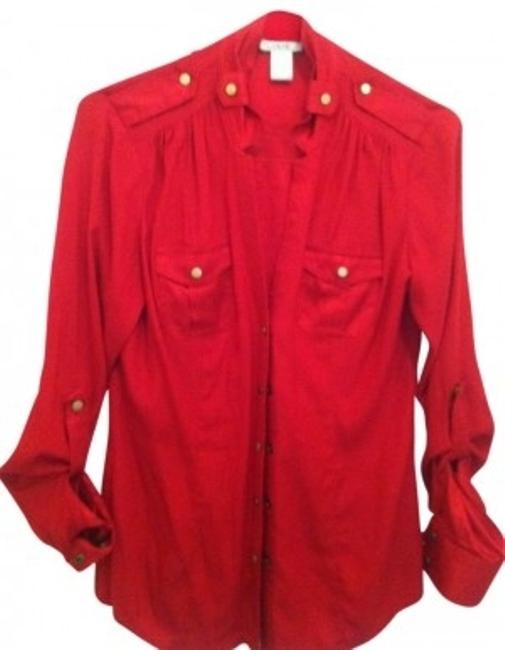 Preload https://img-static.tradesy.com/item/9415/cache-red-dressy-gold-blouse-button-down-top-size-4-s-0-0-650-650.jpg