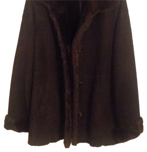 Autunno Shearlings Rich Chocolate Brown Leather Jacket