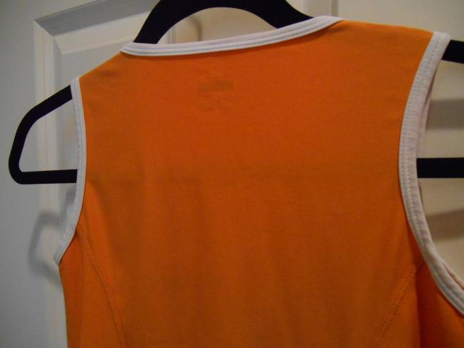 Nike Run Yoga Summer Sport Gym 0 2 Xs S Extra Small Small Swoosh Logo Shirt Pullover Fit Dry Breathable Top Orange