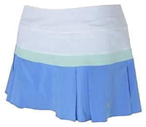 Nike Dry Fit Sport Mini Skirt White, Green, Blue