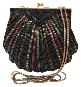 Carla Marchi Vintage Glass Beaded Cross Body Bag