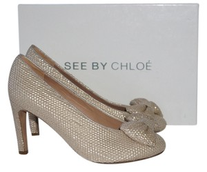 See by Chlo Gold Pumps