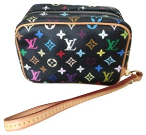 Louis Vuitton Multicolor Wristlet in Black/Multicolored