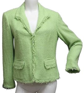 Sag Harbor Tweed Jacket GREEN Blazer