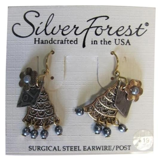 Silver Forest NEW WITH TAGS. 3 LAYERED CHARMS