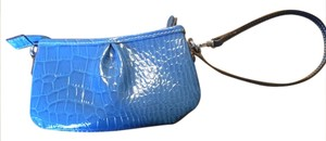 Liz Claiborne Convertible Strap Wallet Small Sweet New Wristlet in Blue