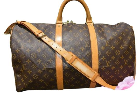 Preload https://item3.tradesy.com/images/louis-vuitton-keepall-50-bandolouire-with-strap-weekendtravel-bag-941807-0-1.jpg?width=440&height=440