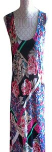 Multicolored floral Maxi Dress by Just Love Maxi Floral Multicolor Plus Size 2x