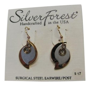 Silver Forest NEW WITH TAGS, 3 LAYERED CHARMS