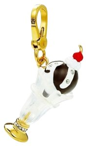 Juicy Couture 100% AUTHENTIC JUICY COUTURE 2014 PAVE ICE CREAM SUNDAE CHARM YJRU8036