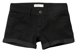 abercrombie kids & Fitch A&f Denim Shorts Black