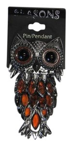 Other NEW, OWL PIN/BROOCH OR PENDANT